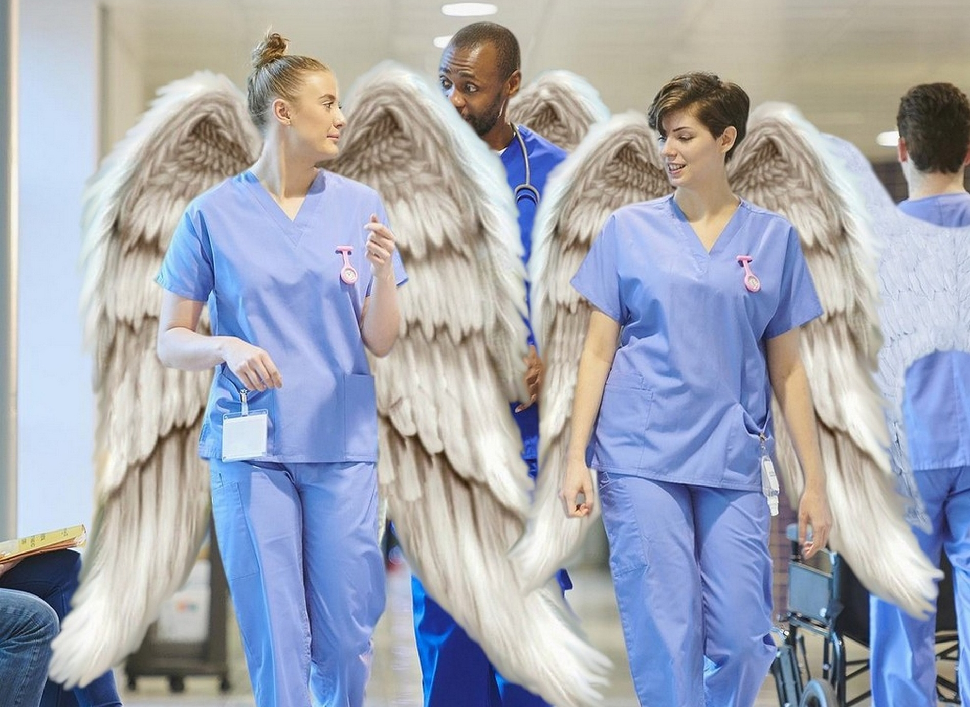 A big THANK YOU to all of the healthcare workers